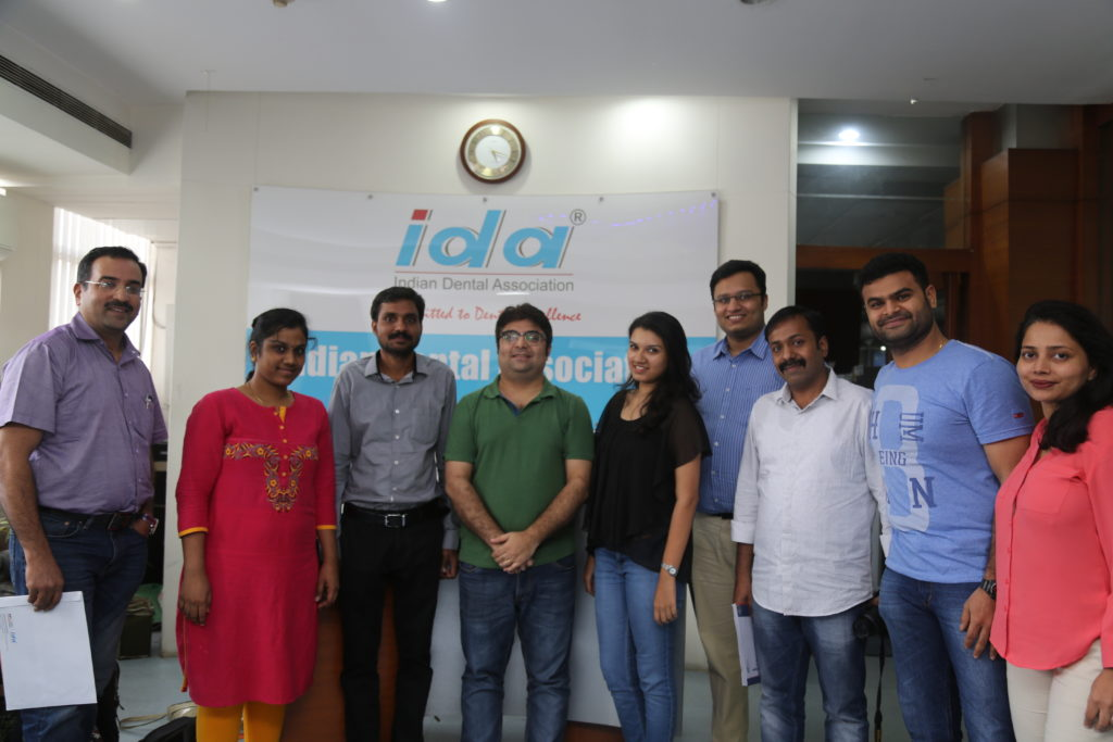 Dental Photography workshop at IDA Education Training Center Mumbai