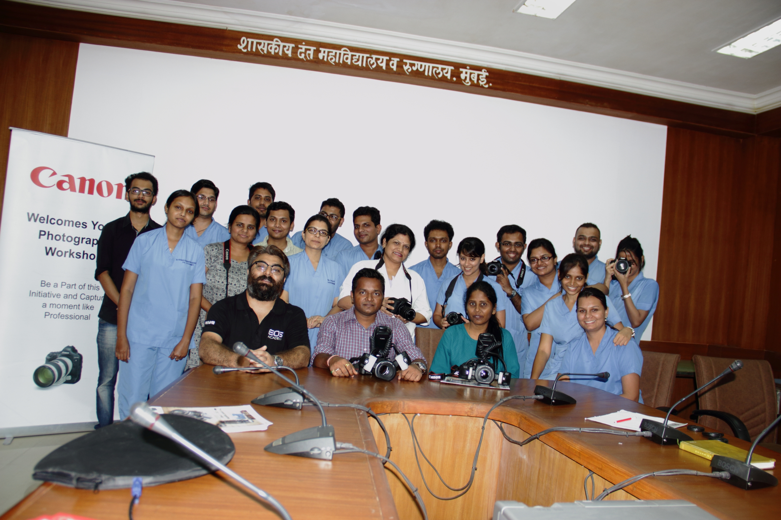 Dental Photography workshop at Government dental college (GDC MUMBAI) Mumbai