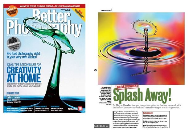 Dr Mayur Davda interview and cover shot on better photography