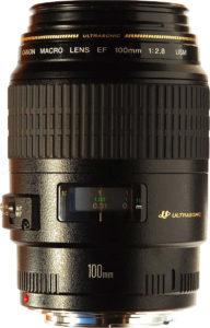100 mm macro NON IS lens